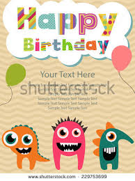 birthday invitation card boy stock images royalty free images