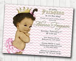 frog baby shower invitations chevron princess baby shower invitation for pink and