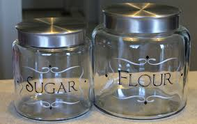 19 glass kitchen canisters airtight stainless steel canister