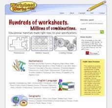 worksheet works u2013 home education resources