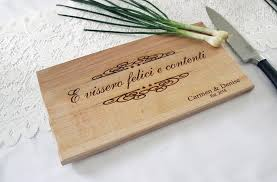 cutting board personalized italian kitchen cutting board personalized engraved cutting board