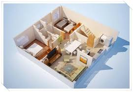 layout of house 3d small house layout design android apps on play