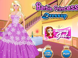 barbie princess dress game townden