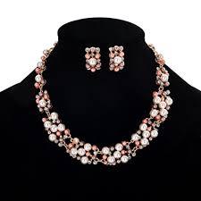 necklace elegant images Bluelans women 39 s party wedding jewellery sets elegant jpg