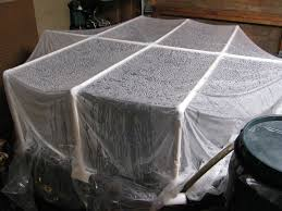cheryl u0027s shtuff greenhouse cover for indoor pond