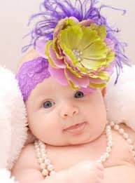 baby flower headbands baby flower hats headbands for infants
