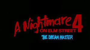 a nightmare on elm street 4 dream 1988