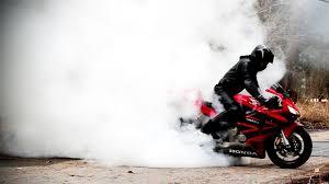 honda bike rr honda cbr 600 rr burnout slow motion 1080p gopro hero 3