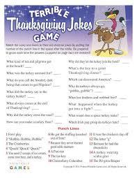 thanksgiving terrible jokes 6 95 thanksgiving printable