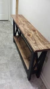 Ideas For Sofa Tables Best 25 Hallway Tables Ideas On Pinterest Diy Sofa Table Diy