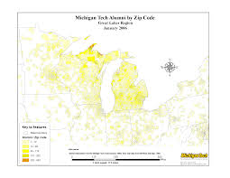 Zip Code Map Michigan by Gis Map Gallery