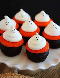 ghostly dark chocolate cupcake u2013 best easy halloween party treat
