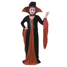 girls victorian vampiress halloween costume