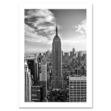black christmas cards empire state building black and white nyc christmas card ny