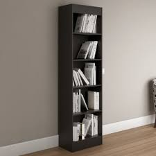 5 Shelves Bookcase South Shore Pure Black Axess 5 Shelf Bookcase Free Shipping