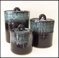 Black Canister Sets For Kitchen Stoneware Kitchen Canister Sets Asianfashion Us