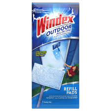 Windex To Clean Hardwood Floors - windex outdoor glass cleaning refill pads 2 pack 602684 the