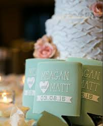 custom wedding favors custom wedding can cooler wedding favor and so the