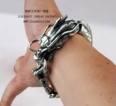dragon bracelet silver images Antique silver dragon bracelet for men buy antique silver dragon jpg
