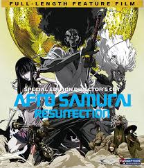 afro samurai afro samurai resurrection blu ray director u0027s cut