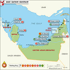 map of the uae golf map uae top 100 golf courses best destinations