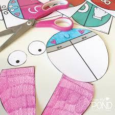 ladybug match u0026 a free one page craft frog spot