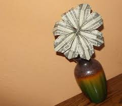 money flowers how to make a simple bouquet of origami money flowers