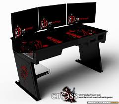 Desk For Pc Gaming Modern Pc Gaming Desk Photo Home Decor Gallery Image And Wallpaper