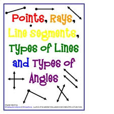 48 best math 4 10 geometry points lines rays images on pinterest