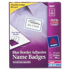 100 avery templates and software avery 980040 fabric name badge