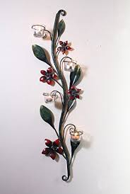 rod iron home decor buy malhar home décor wrought iron wall scone online at low prices