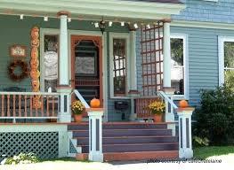 decorate front porch fall front porch ideas brescullark com