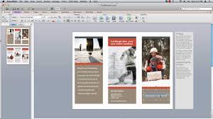 mac brochure templates word brochure template mac fieldstation co