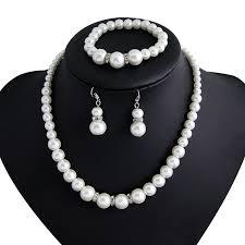 costume jewelry pearl necklace images Danbihuabi wedding costume jewelry sets imitation pearls jewelry jpg