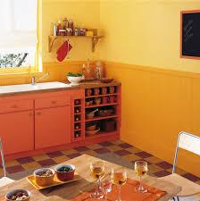 peinture cuisine jaune la couleur orange pour tous les styles