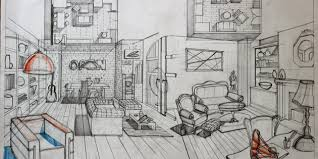 draw room 90 interior design drawing tips freehand architecture