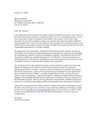 sample management consulting cover letter image collections