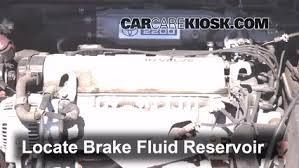 1996 toyota camry brakes 1992 1996 toyota camry brake fluid level check 1996 toyota camry