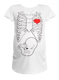 happy mama women u0027s maternity halloween baby u0026 skeleton ribs print