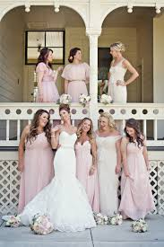amazing of bride and bridesmaid dresses running of the brides