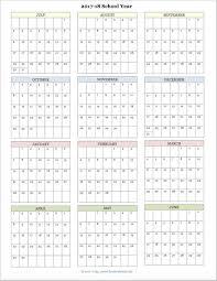 academic calendar templates ic 2017 blank monthly calendar