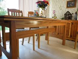 dutch pull out table dutch pullout dining room table finewoodworking