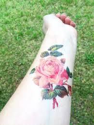 vintage roses 7 temporary tattoos pack rose tattoo vintage