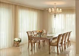 Dining Curtains Formal Dining Room With Sheer Curtains An Elegant Formal Dining