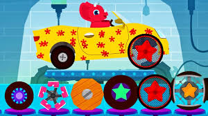 monster truck cartoon videos car driving for kids truck driver cars monster truck dinosaur