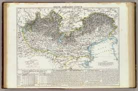 Blank Map Of Eastern Hemisphere by Regno Lombardo Veneto David Rumsey Historical Map Collection