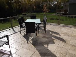 Flagstone Patio Installation Cost by Travertine Pavers Cost U0026 Installation Price