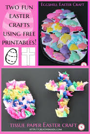 Printable Decorations For Easter by Two Easter Crafts For Kids Free Printable Creative K Kids