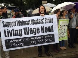 walmart black friday strike protesters target another wal mart store this time in l a latimes
