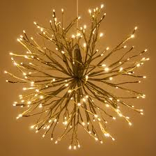 Lighted Branches Starburst Lighted Branches With Warm White Led Twinkle Lights 1 Pc